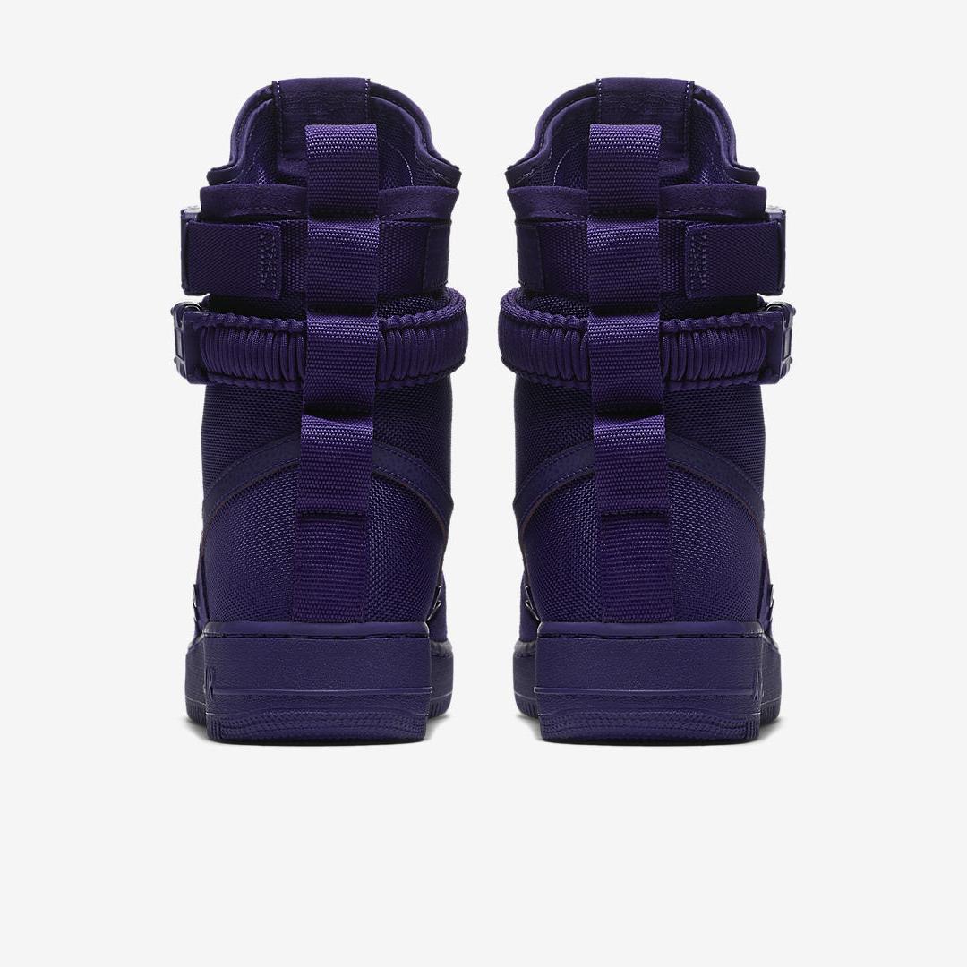 nike SF AF1 court purple 3