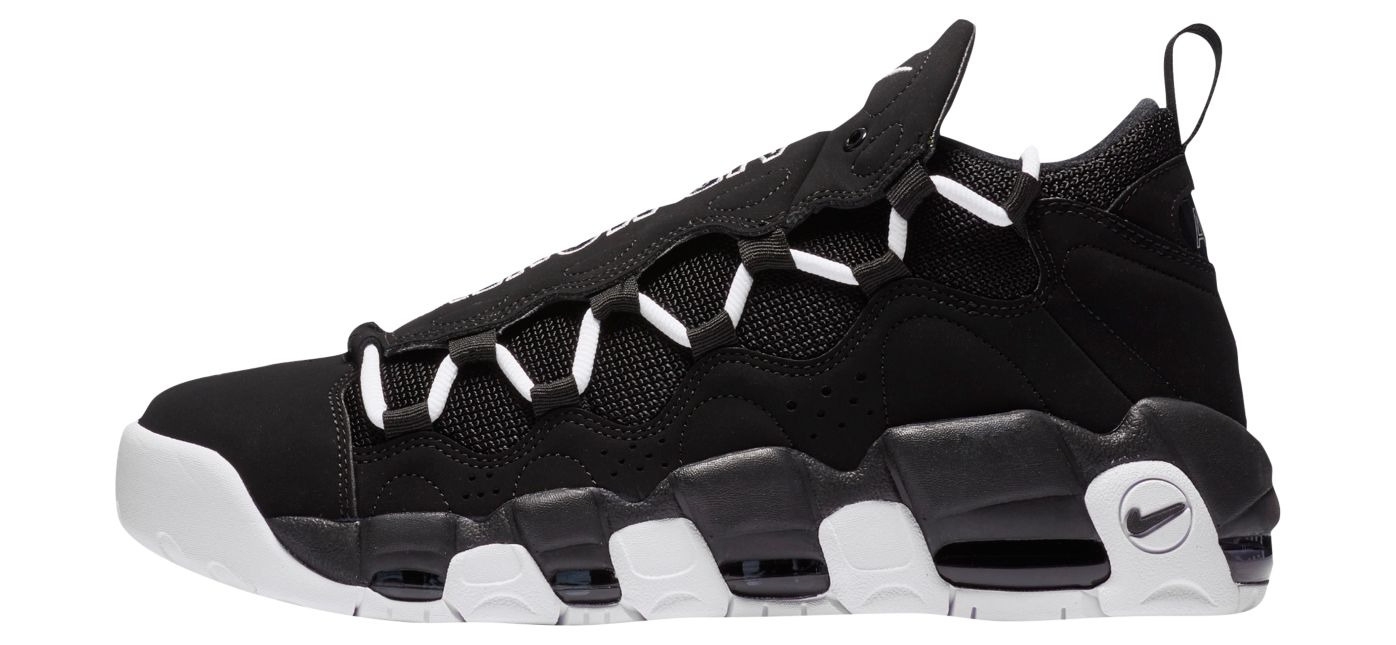 nike air more money black white 1