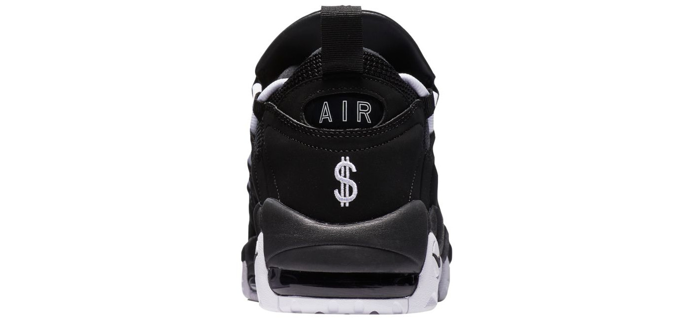 nike air more money black white 2