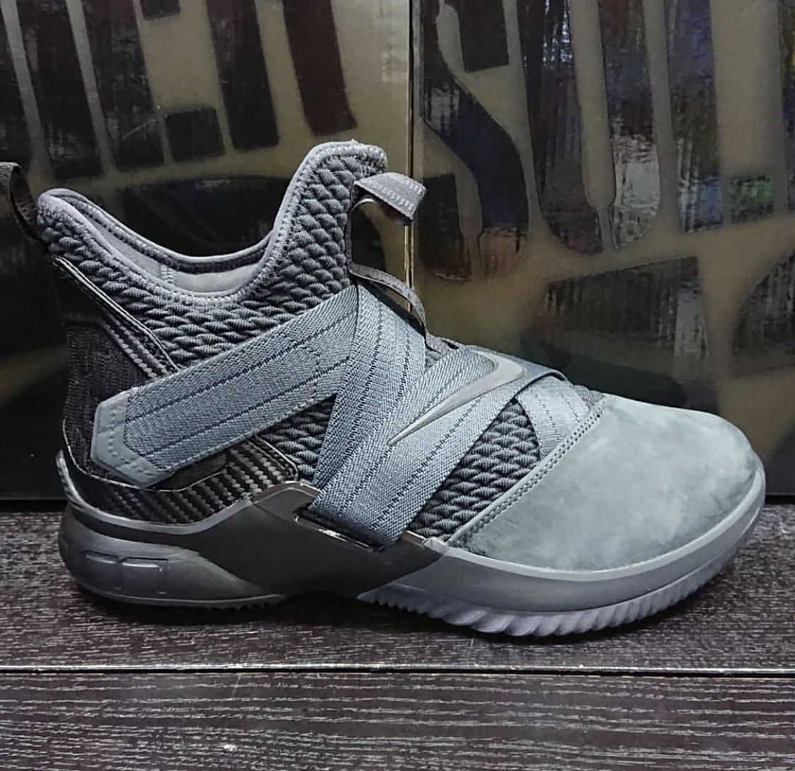 buy online 2f0e4 62514 Nike LeBron Soldier 12 SFG Surfaces in Grey - WearTesters