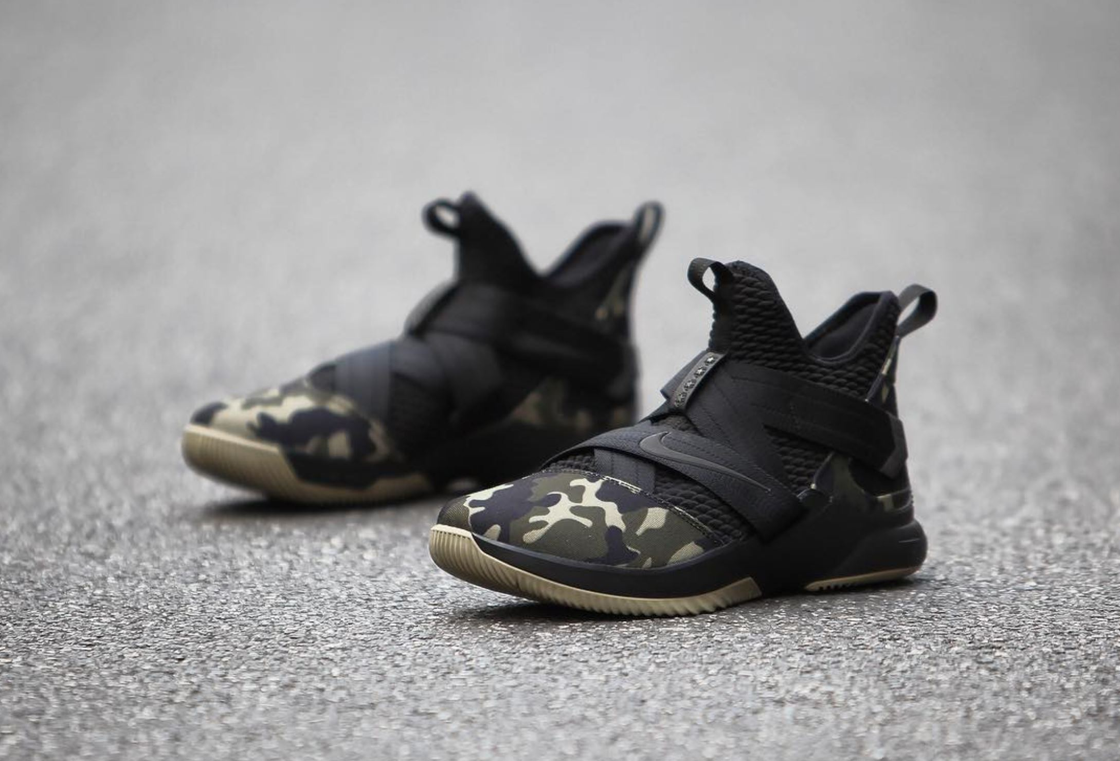 best service 31010 0521a Here's a Detailed Look at the Nike LeBron Soldier 12 'Camo ...