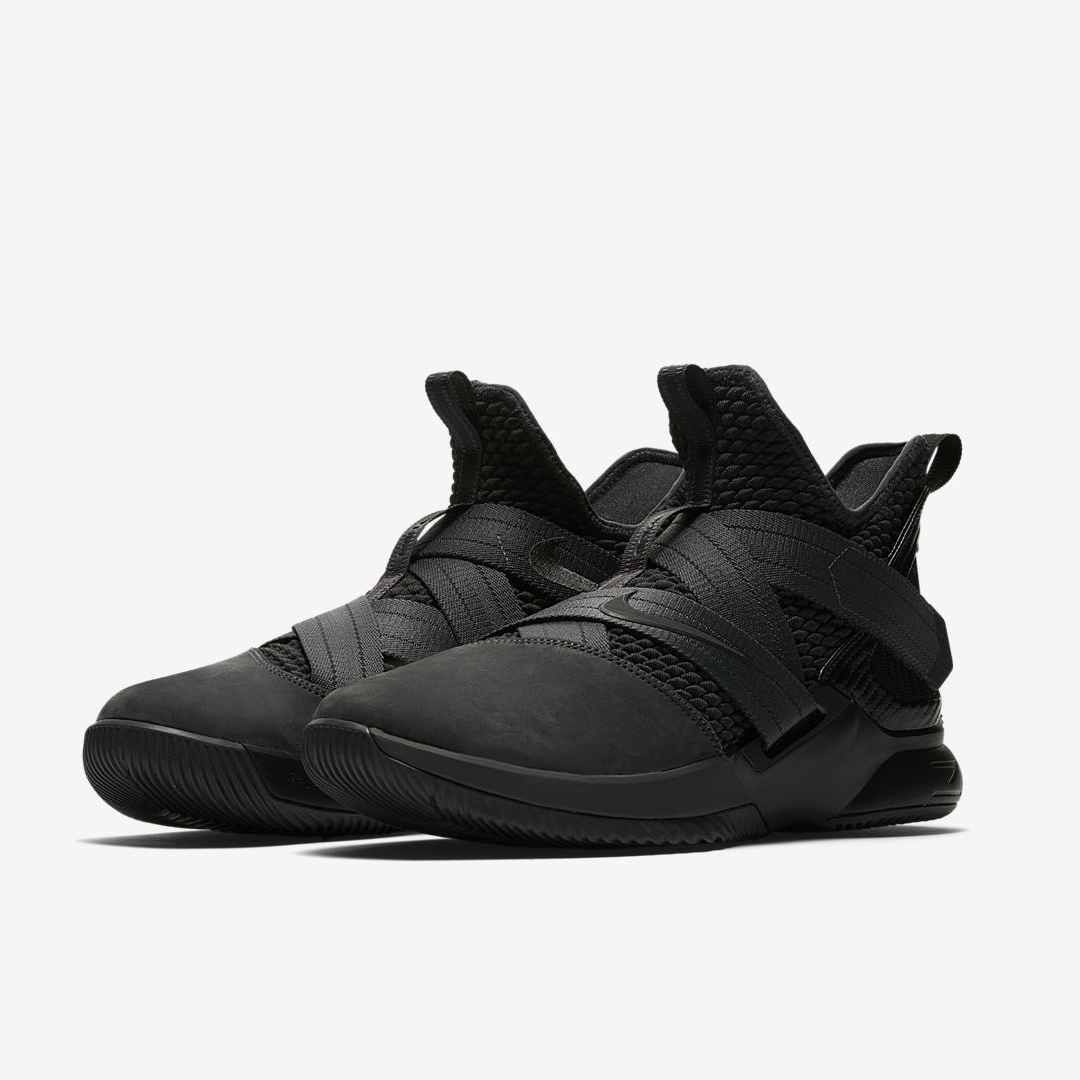 the best attitude c55e6 4dbcc The Nike LeBron Soldier 12 'Zero Dark Thirty' Leaks Online ...