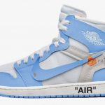 The Off White Air Jordan 1 'UNC' Has a Release Date