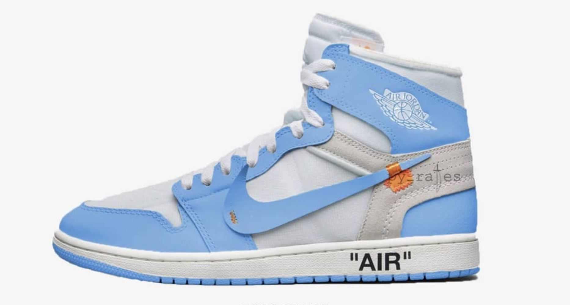 The Off White Air Jordan 1 'UNC' Has a Release Date ...