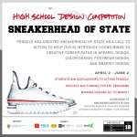 Pensole Announces Sneakerhead of State, a National High School Design Competition
