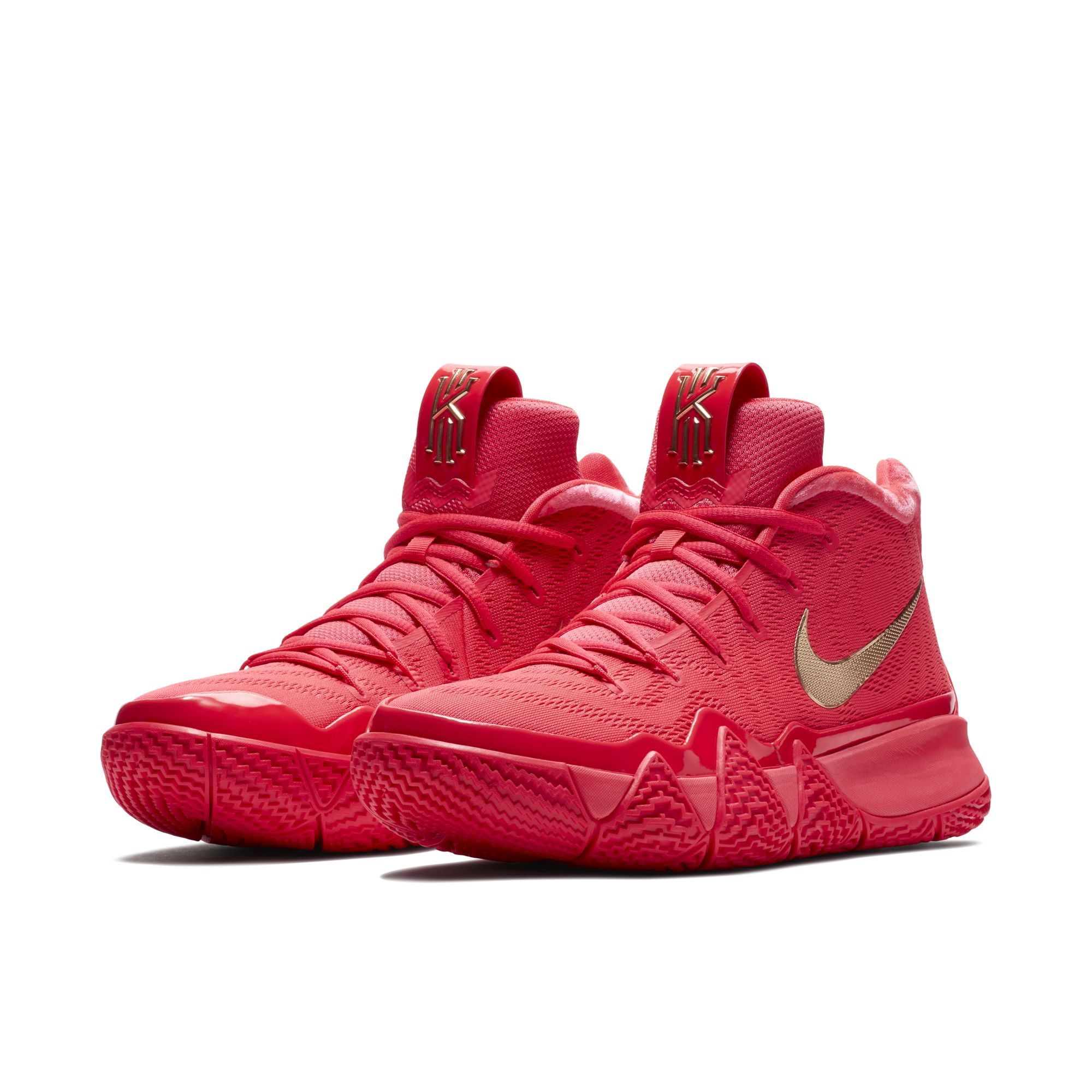 buy online fb4ac b4956 The Nike Kyrie 4 'Red Carpet' Was a Facebook Messenger ...