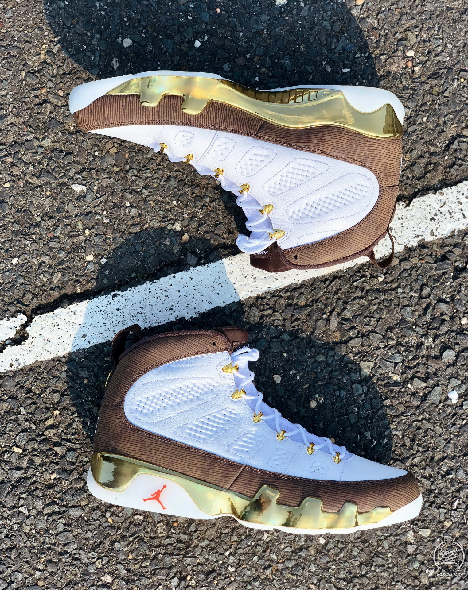 the best attitude d42ca 97a72 Detailed Look at the Air Jordan 9 'MOP Melo' - WearTesters