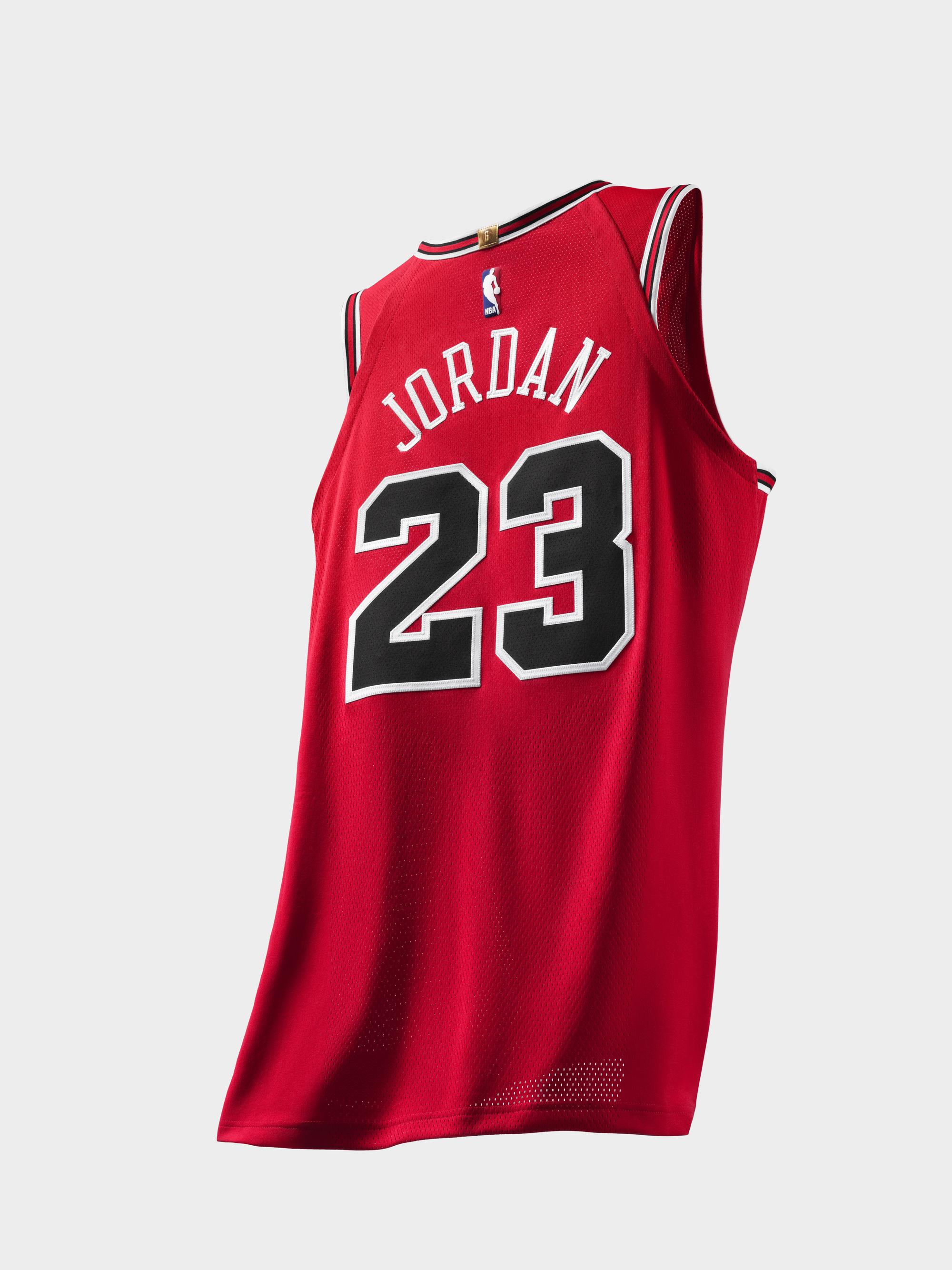 Nike Unveils Limited Edition Michael Jordan Bulls Jerseys