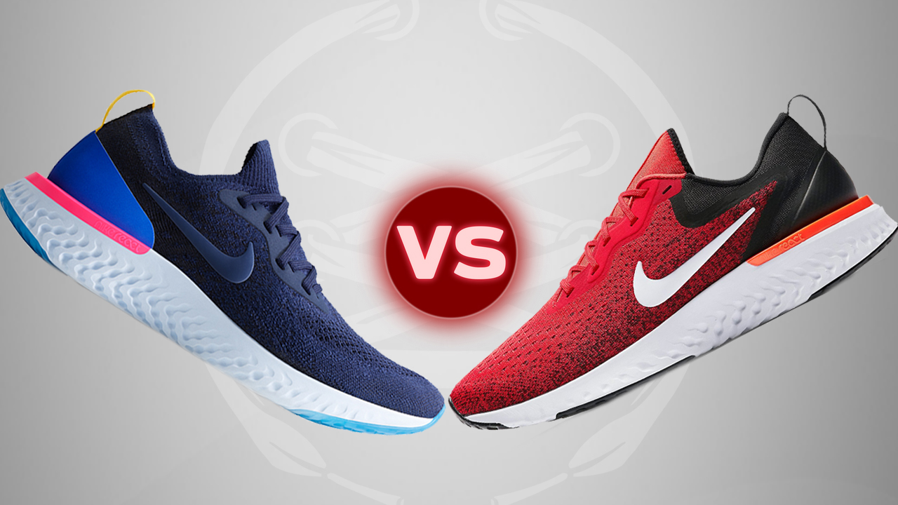 The Nike Odyssey React vs the Epic React Flyknit - WearTesters