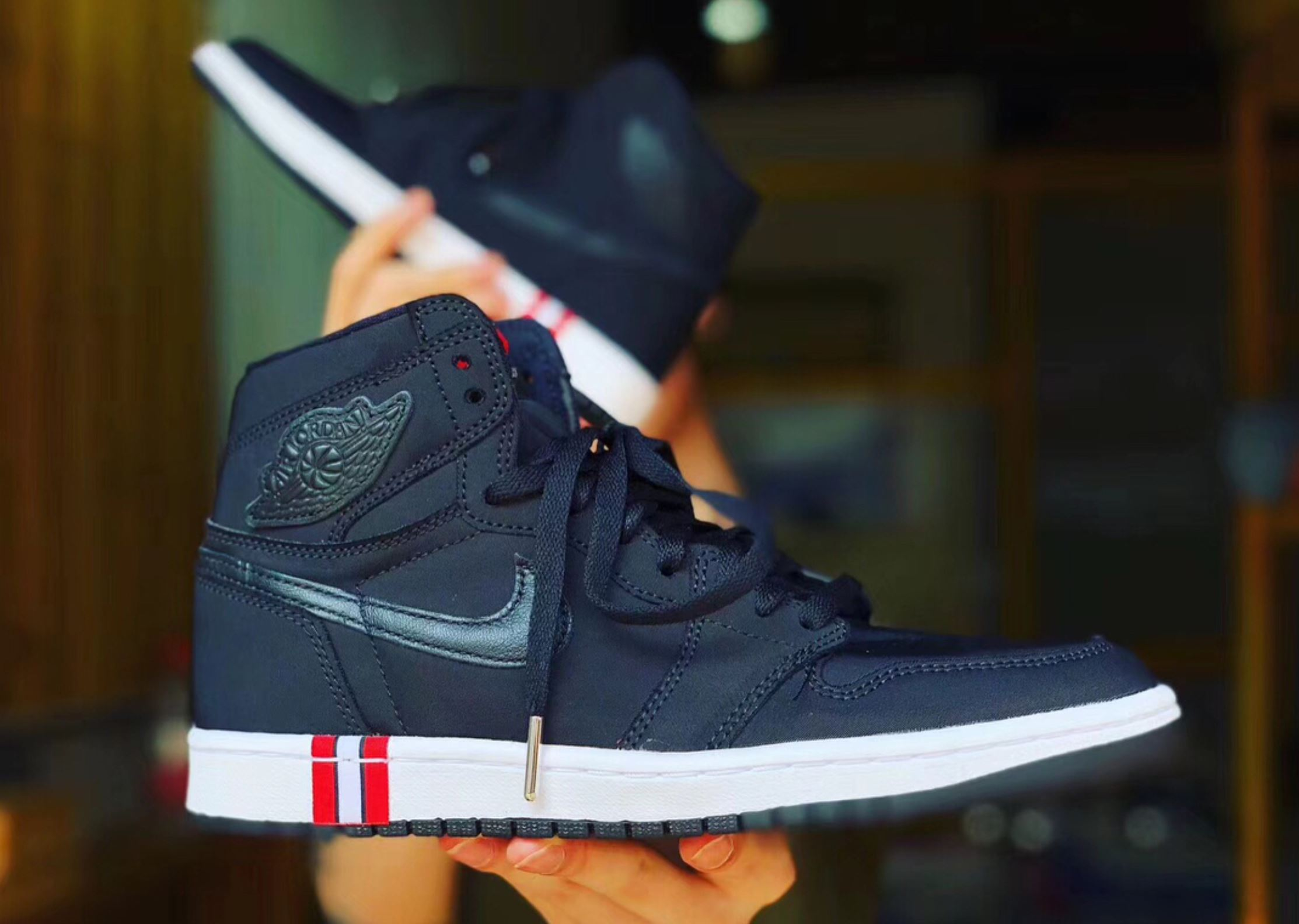 newest collection c84f4 d59a9 An Air Jordan 1 'PSG' Surfaces, Hints at Upcoming Paris ...