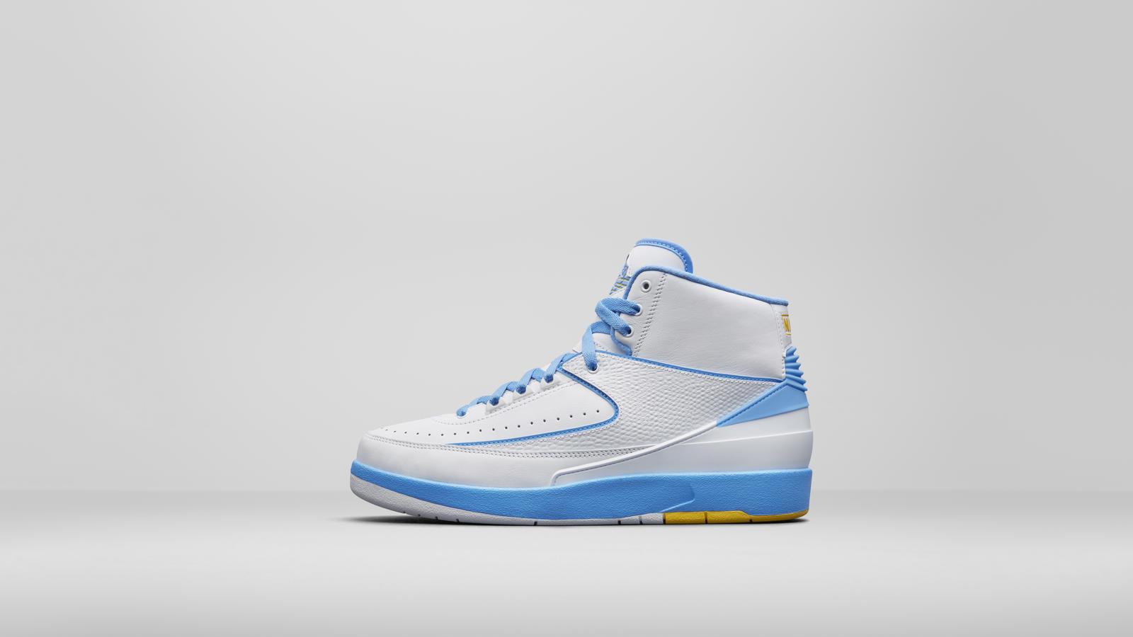Nike Air Jordan 2 II Retro Carmello Anthony (Melo) Weiß