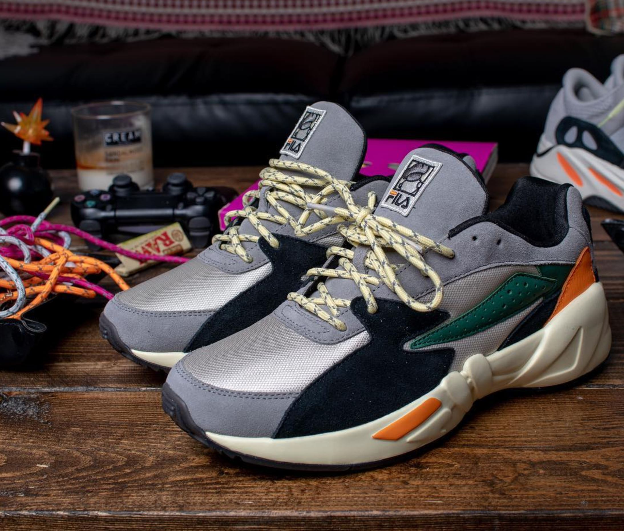 The Burn Rubber x Fila Mindblower 'Feezy' Release Has Been ...