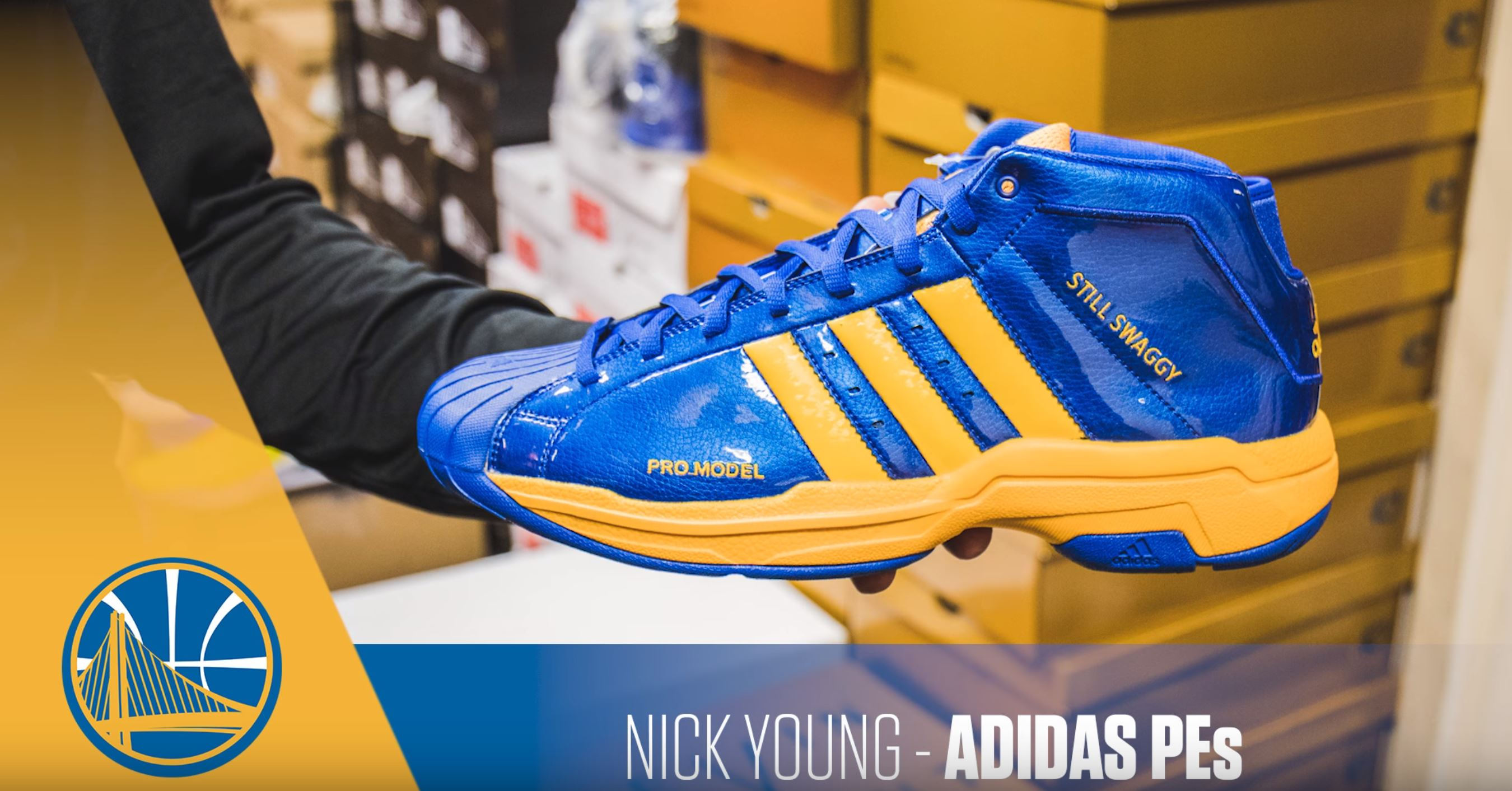 nick young adidas pro model PE 1