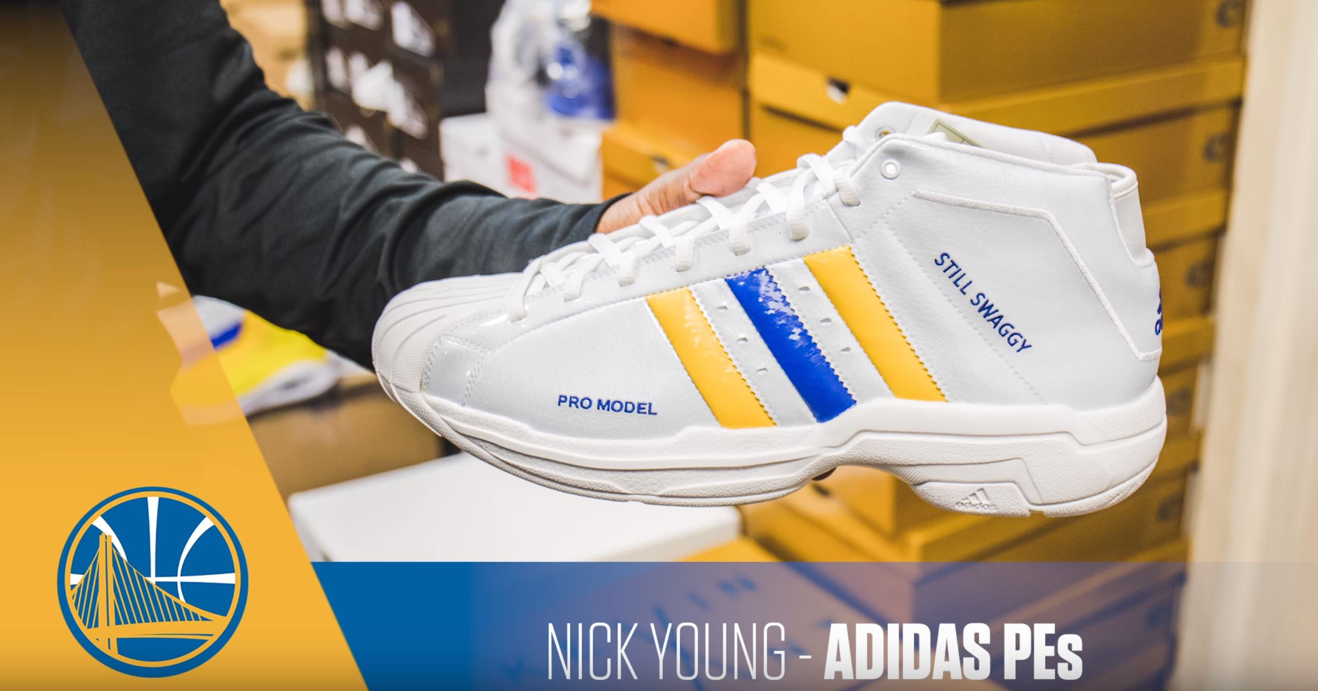 nick young adidas pro model PE