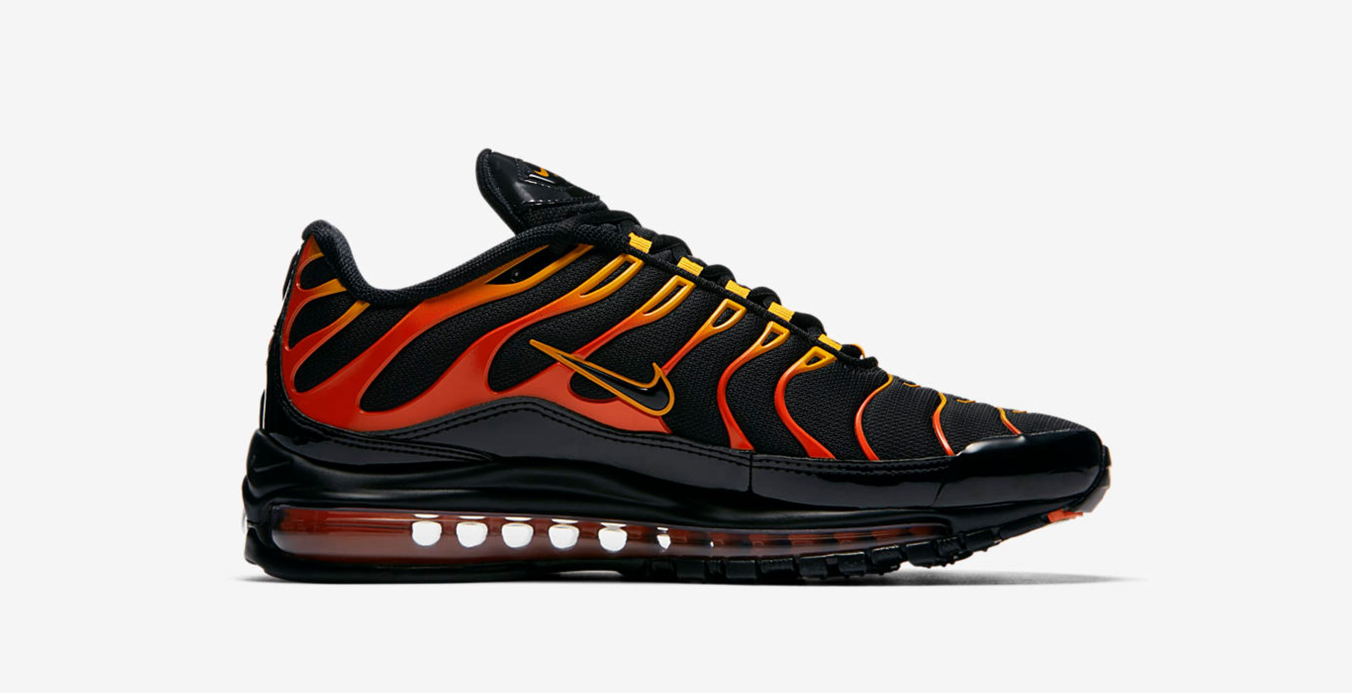 online store ce309 918ff Flame On with the Nike Air Max Plus 97 'Shock Orange ...