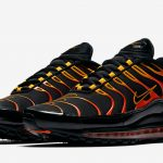 Flame On with the Nike Air Max Plus 97 'Shock Orange'