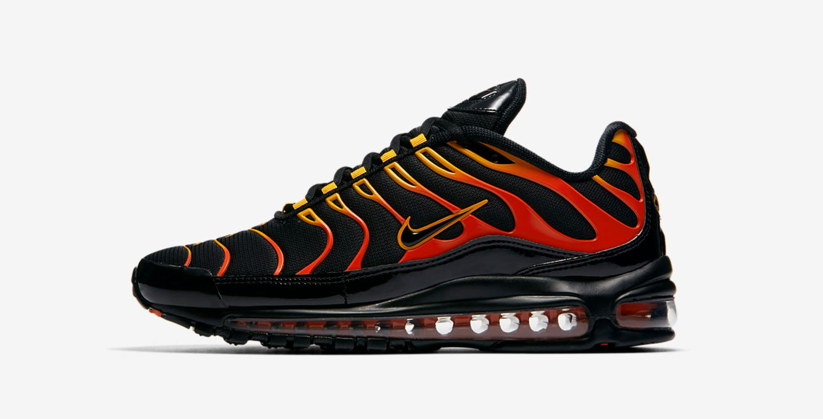wholesale online classic fit good service This Red Hot Nike Air Max 97 Plus Hybrid Arrives Friday ...