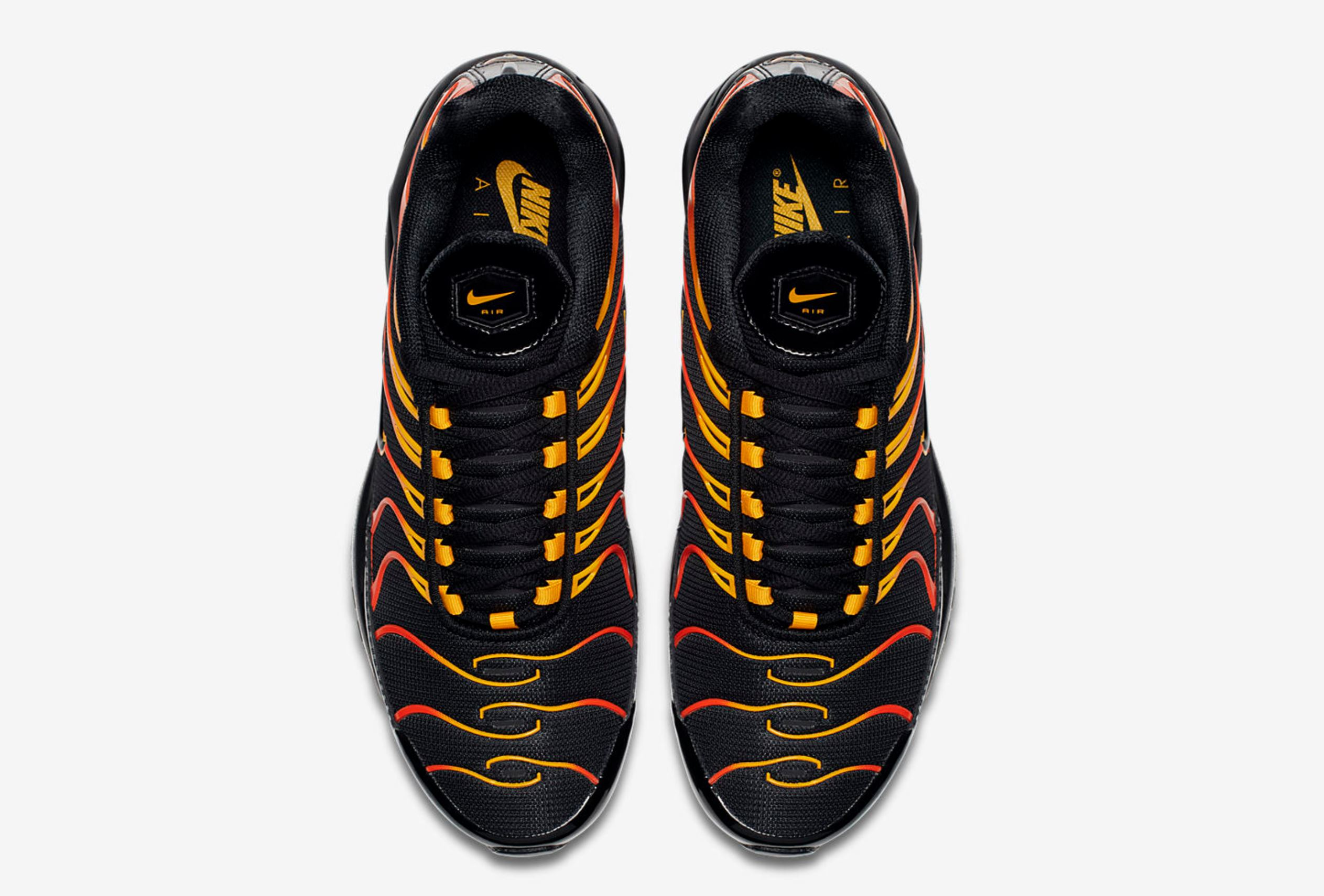 online store ea7da 1a11b Flame On with the Nike Air Max Plus 97 'Shock Orange ...