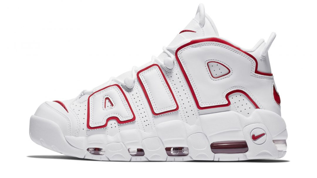 nike air more uptempo white red 2