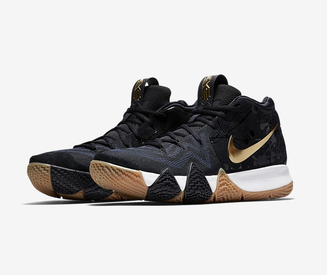 huge selection of f8f80 49c43 The Nike Kyrie 4 'Blue/Gold' Drops This Weekend - WearTesters