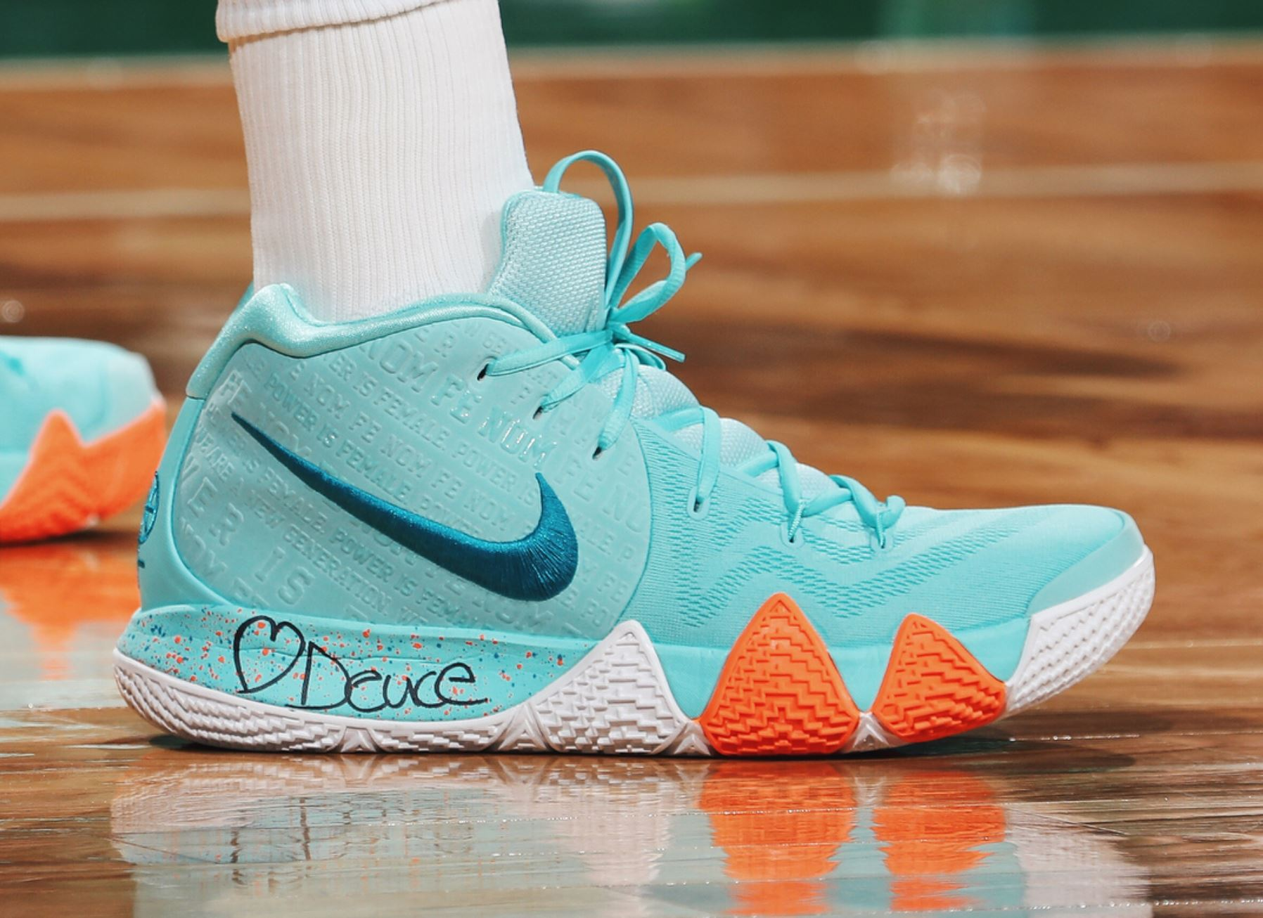 info for 38f4e 1f507 The Nike Kyrie 4 'Power is Female' Release Date is Official ...