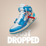 The Off White Air Jordan 1 'UNC' Got a Surprise Drop Today