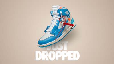 off white air jordan 1 unc release
