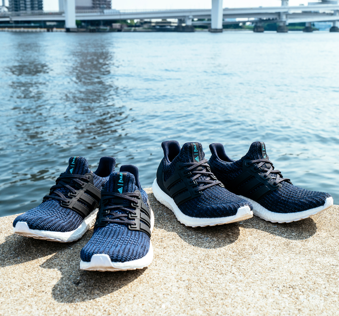 The adidas Ultra Boost 4.0 Parley in
