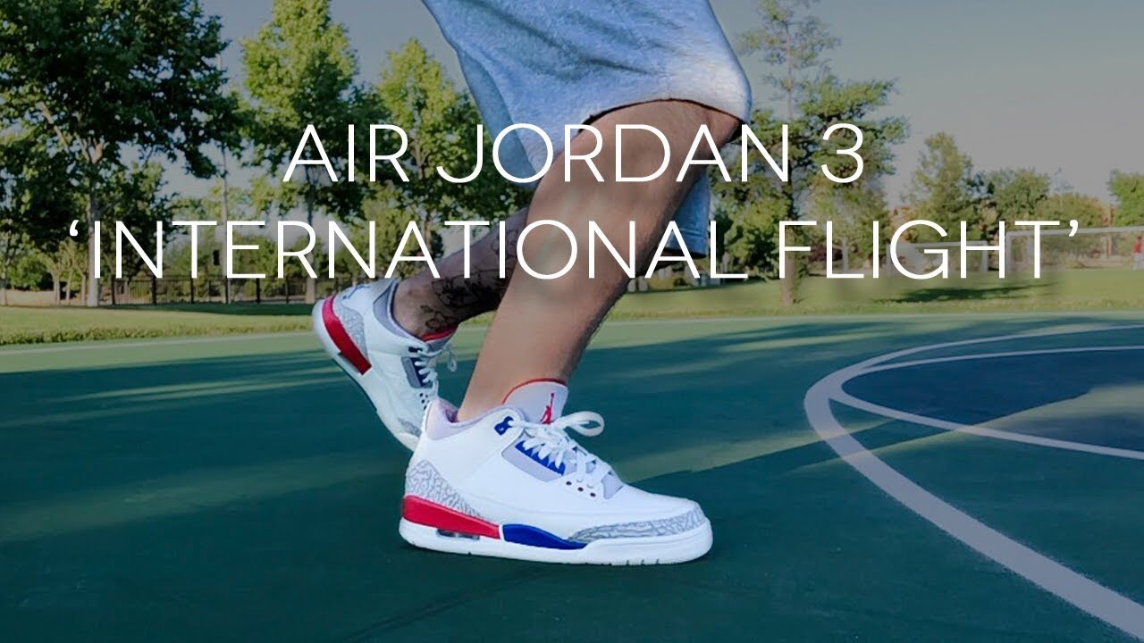 low priced 3fbdc aeed9 Air Jordan 3 'International Flight' | Detailed Look and ...