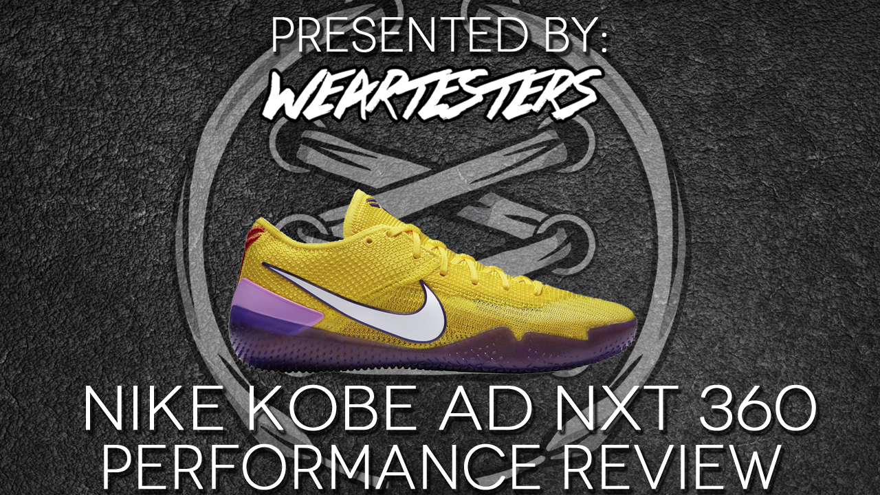 sports shoes 9500f e11c3 Nike Kobe NXT 360 Performance Review - WearTesters