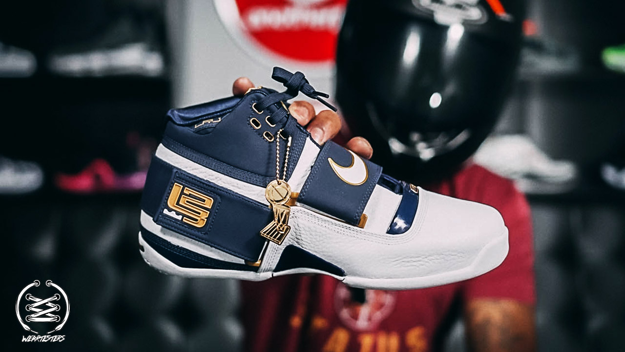 new concept 812c1 1ef35 Nike LeBron Zoom Soldier 1 '25 Straight' Detailed Look ...
