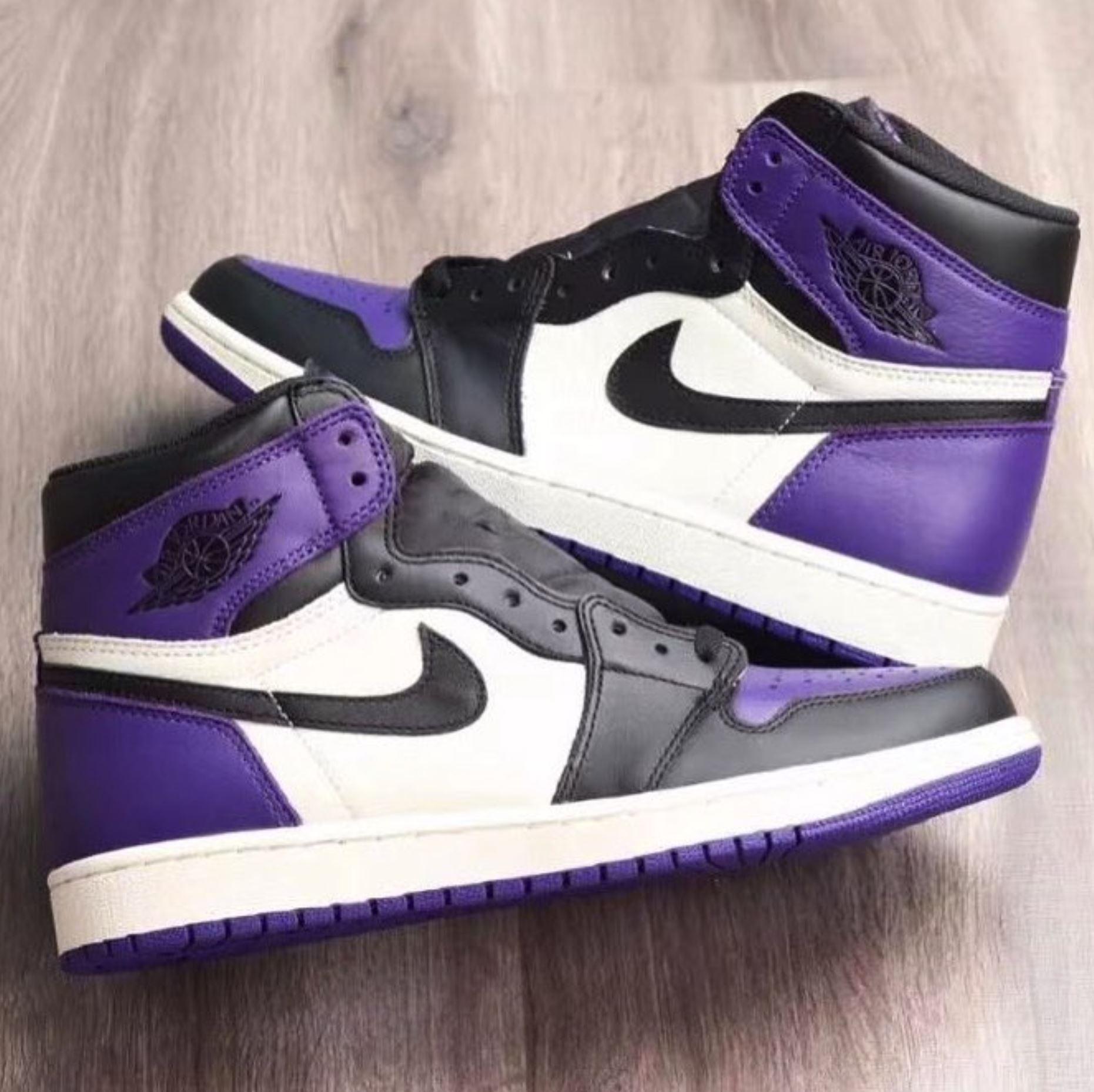 suficiente Sabor Inconveniencia  The Air Jordan 1 'Court Purple' Release is Scheduled for September -  WearTesters