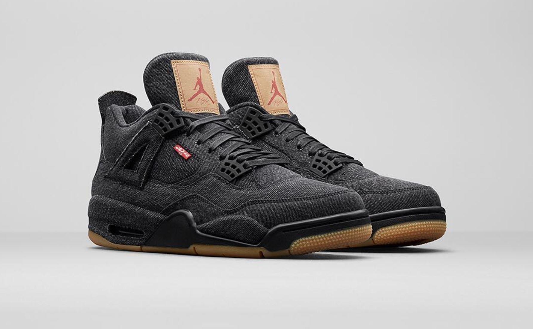 The Next Two Levi's x Air Jordan 4