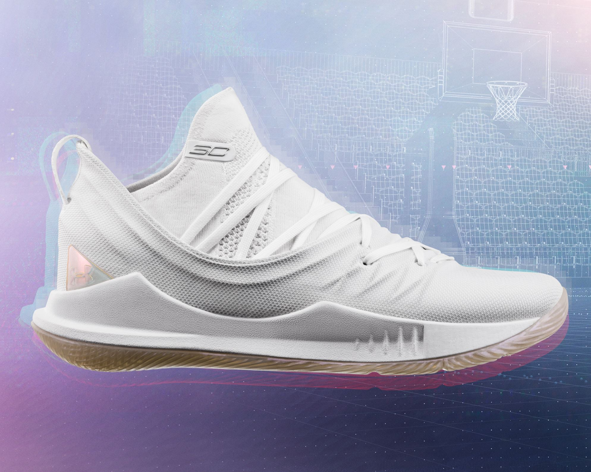 "Under Armour Curry 5  ""white"""