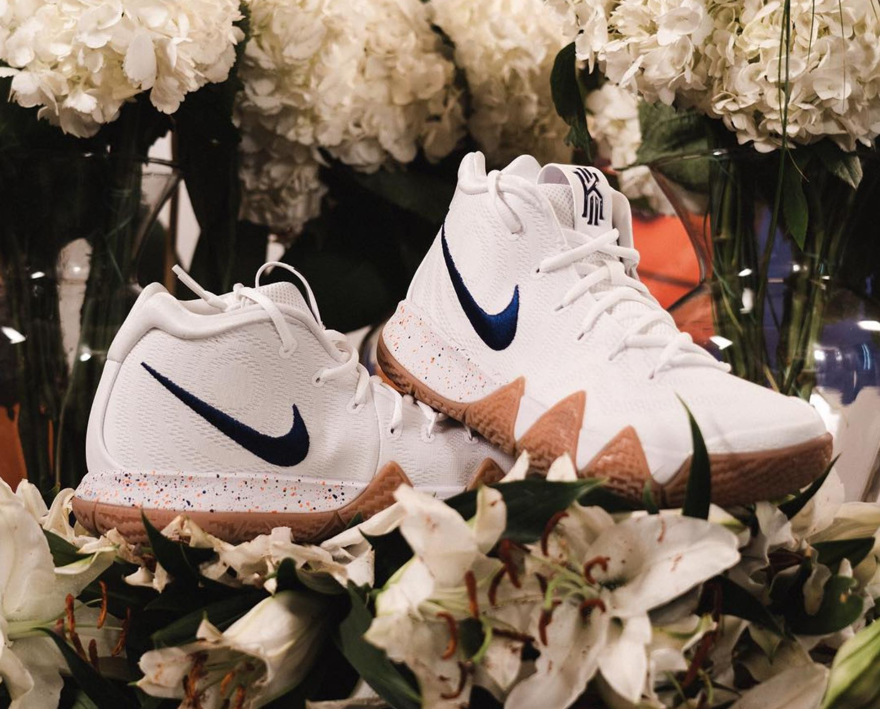The Nike Kyrie 4 'Uncle Drew' Has