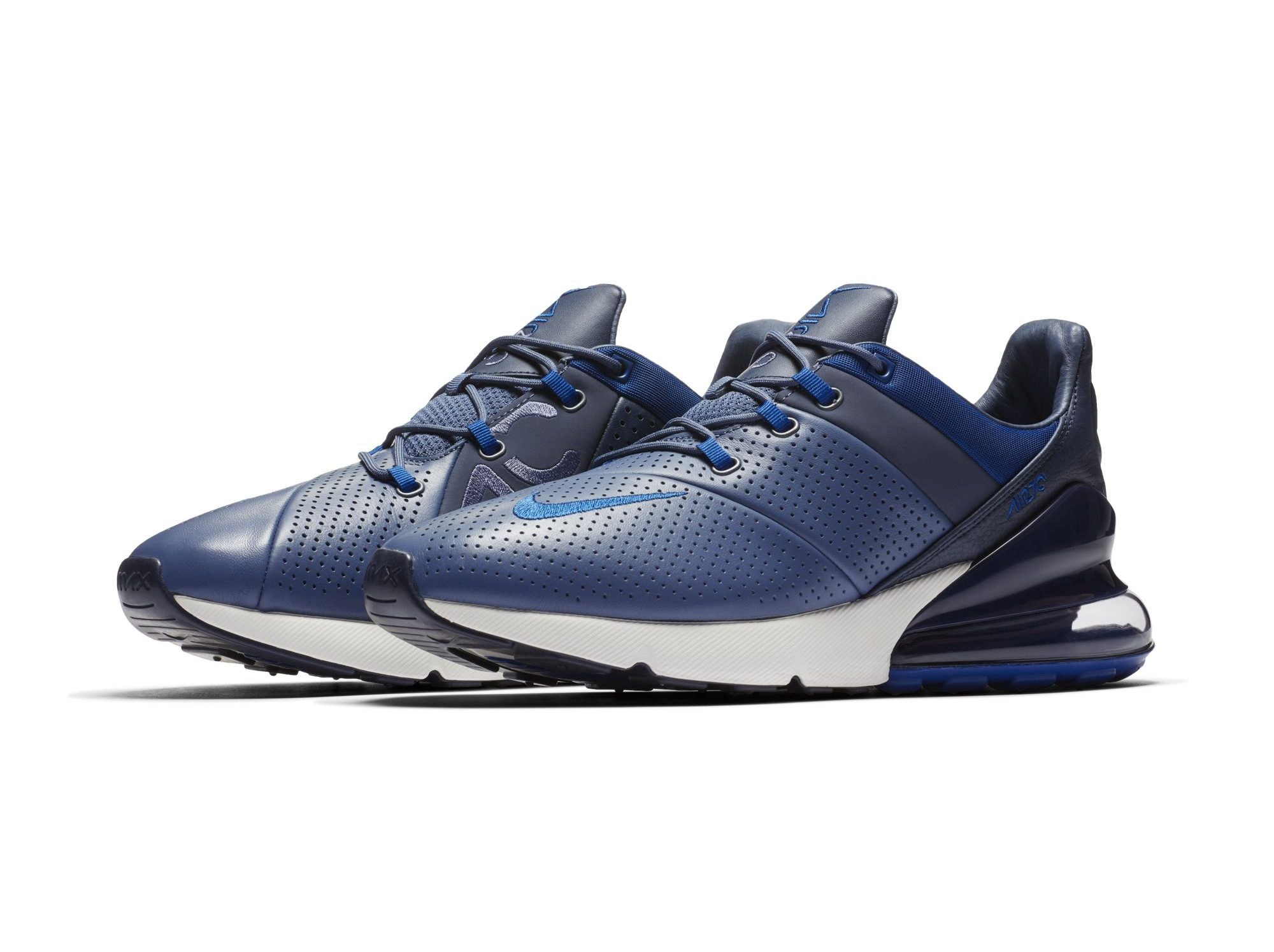 lowest price 64463 2e2d9 The Nike Air Max 270 Premium Flaunts Perforated Leather and ...