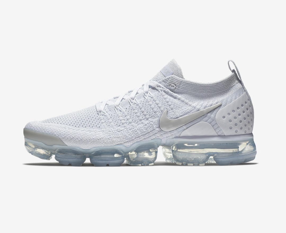 timeless design 3279f 5487f The Nike Air VaporMax 2 'Triple White' Arrives This Week ...