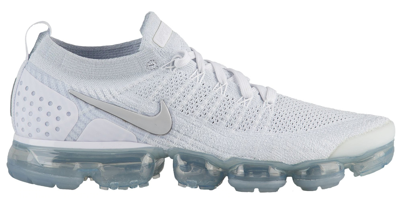 quality design 048f8 9cad7 nike air vapormax flyknit 2 triple white - WearTesters