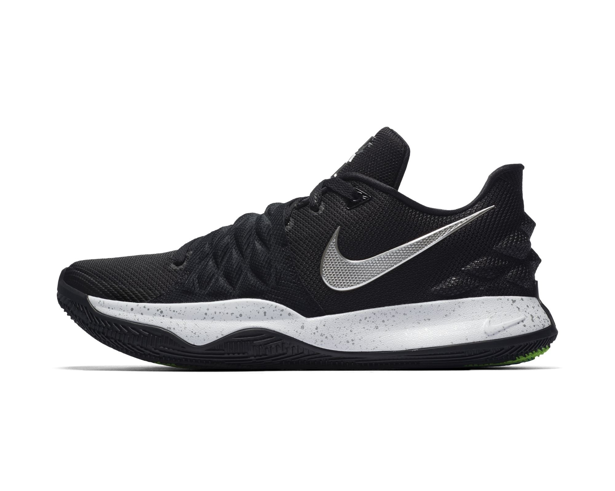 wholesale dealer e50a6 6cd83 The Nike Kyrie 4 Low is Clean in Black and White - WearTesters
