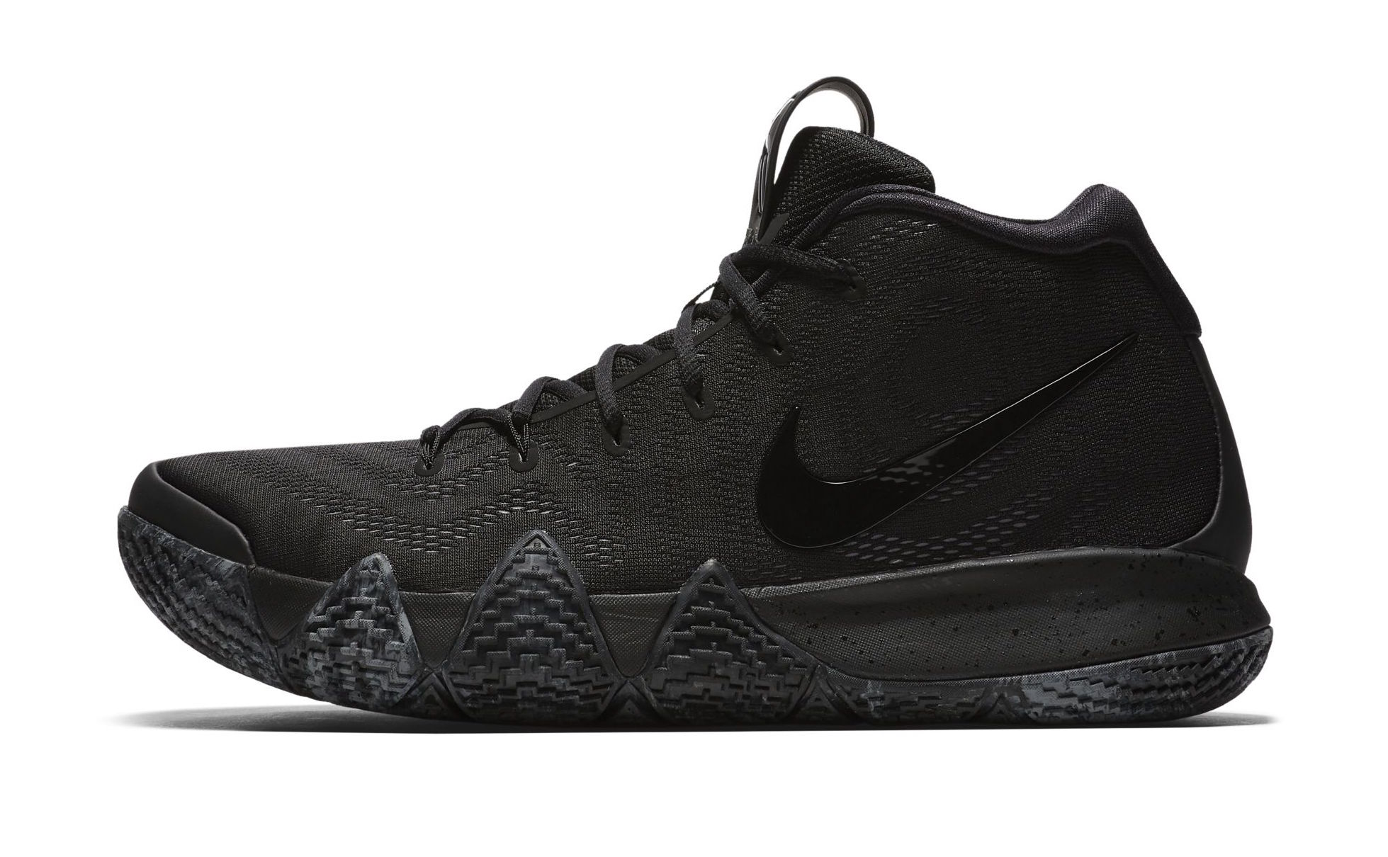 reputable site 46ca9 f316e Expect the Nike Kyrie 4 'Triple Black' Next Month - WearTesters