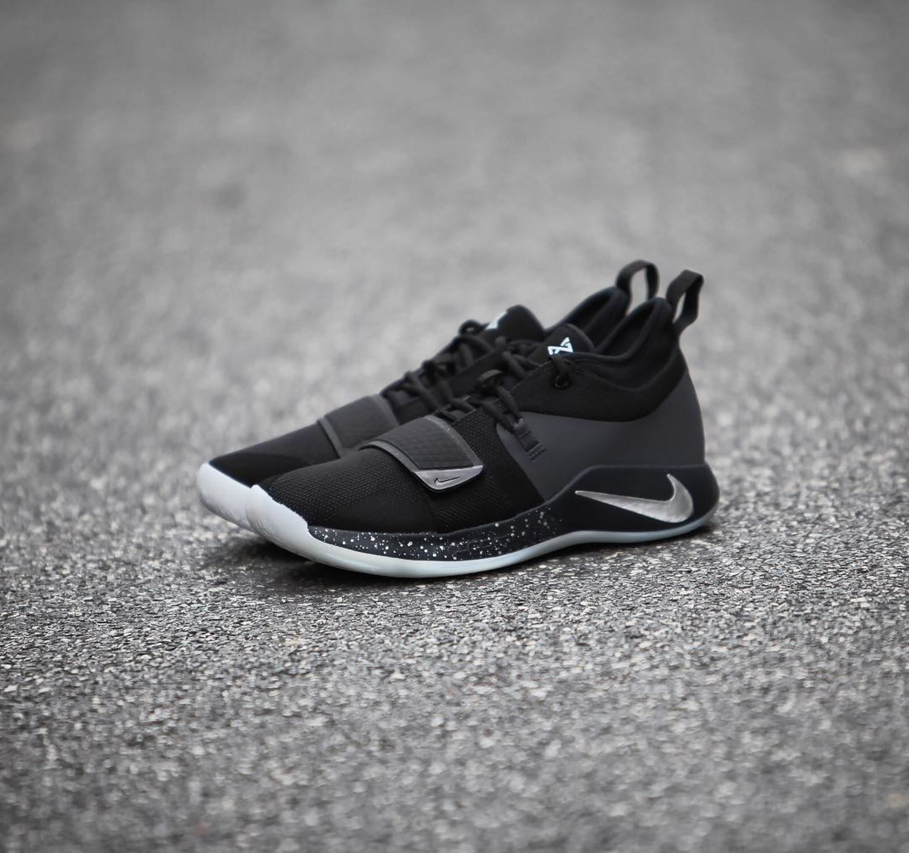 watch baf92 c1cdd Paul George's Nike PG 2.5 Has Dropped in Nearly-Triple Black ...