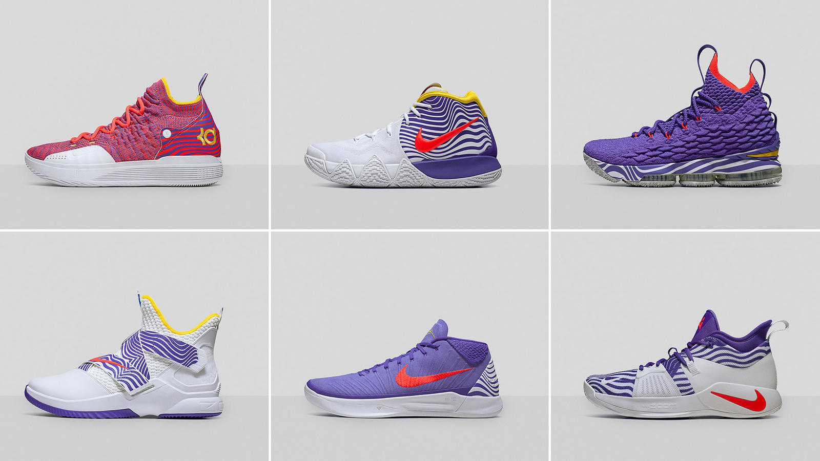 Leia no relacionado barril  Nike Unveils Purple 2018 WNBA All-Star Game PE Collection - WearTesters