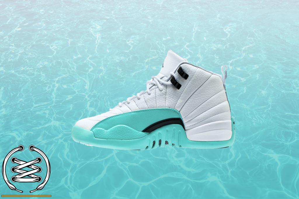 41c2e831b50 Check Out This 'Light Aqua' Air Jordan 12 Retro - WearTesters