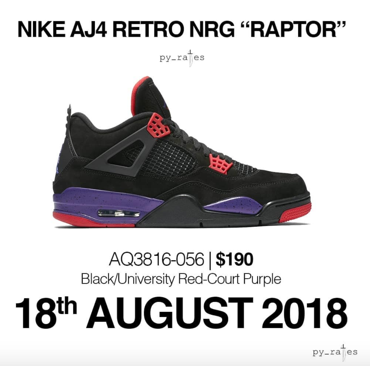 low priced 816dc 94a37 Possible Air Jordan 4 Retro NRG