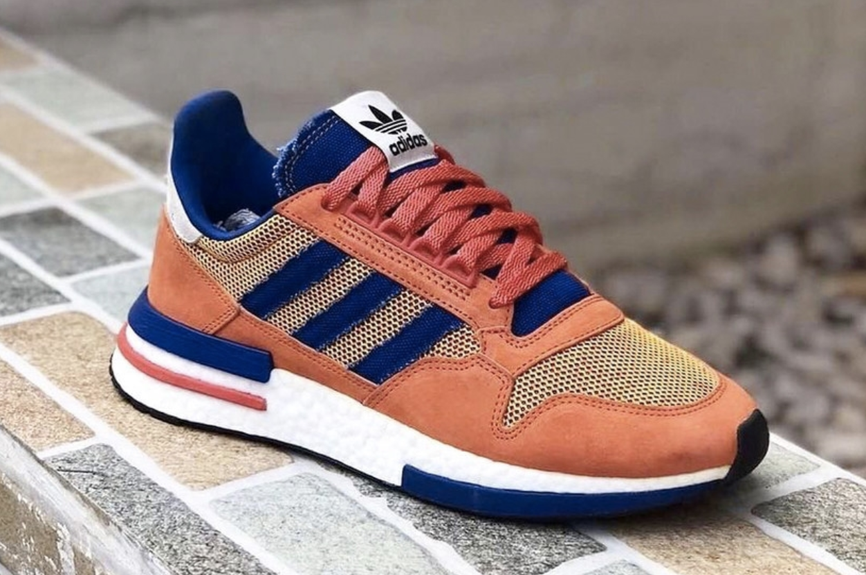 Dragon Ball Z 'Son Goku' adidas ZX 500 RM Officially