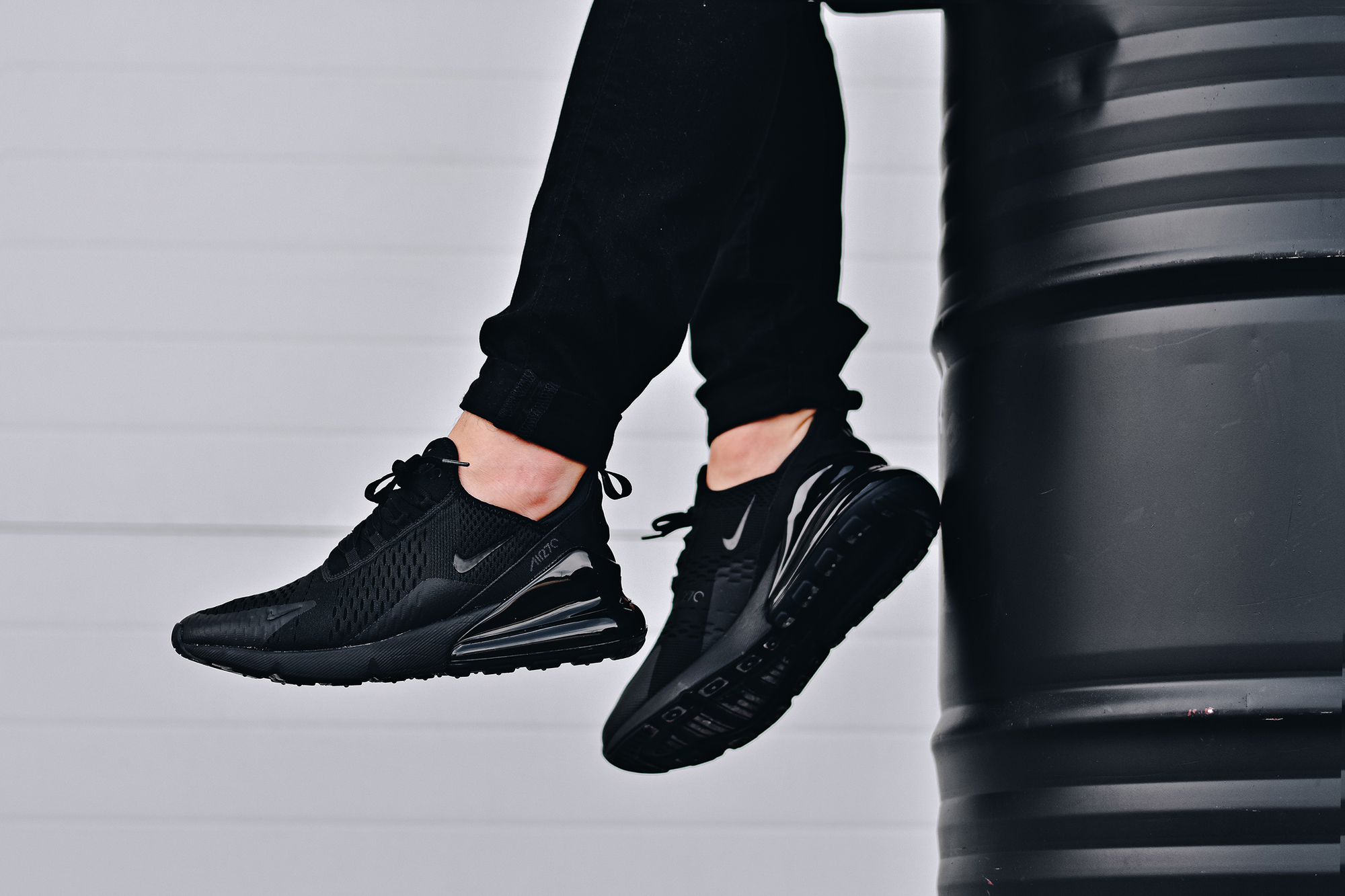 The Nike Air Max 270 'Triple Black' is Available Now