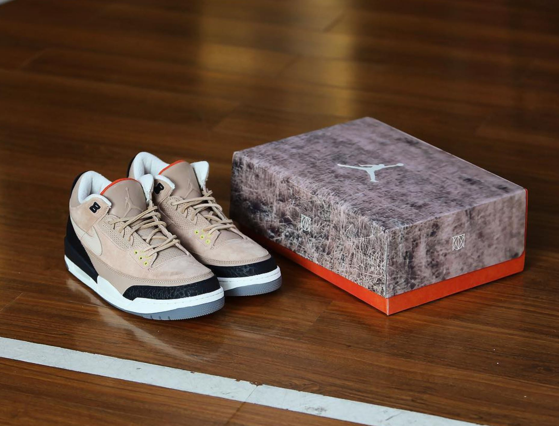 low cost lowest price huge selection of The Justin Timberlake Air Jordan 3 NRG JTH 'Bio Beige ...