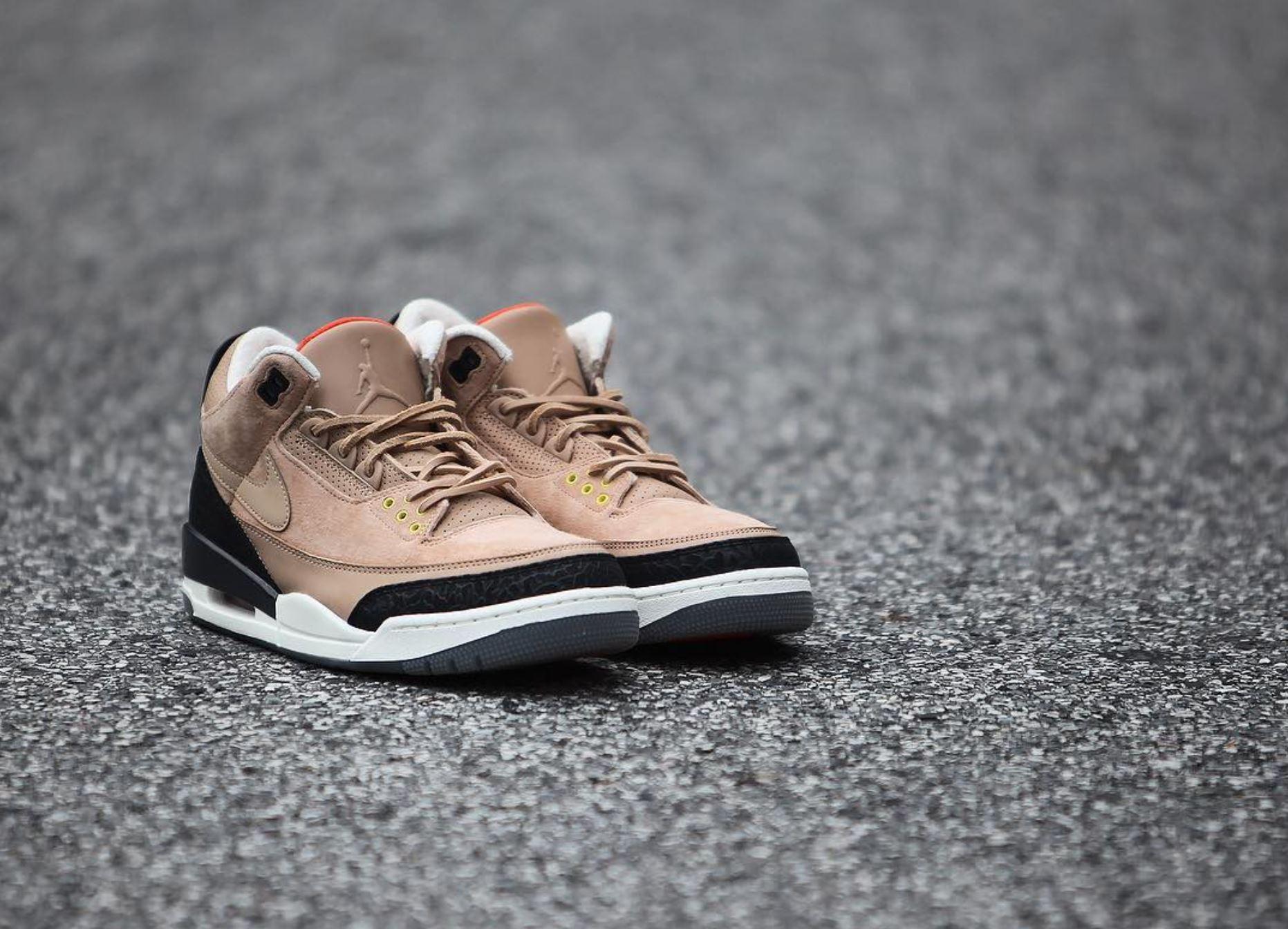 sports shoes ec2b6 929a7 air jordan 3 bio beige justin timberlake detailed look ...