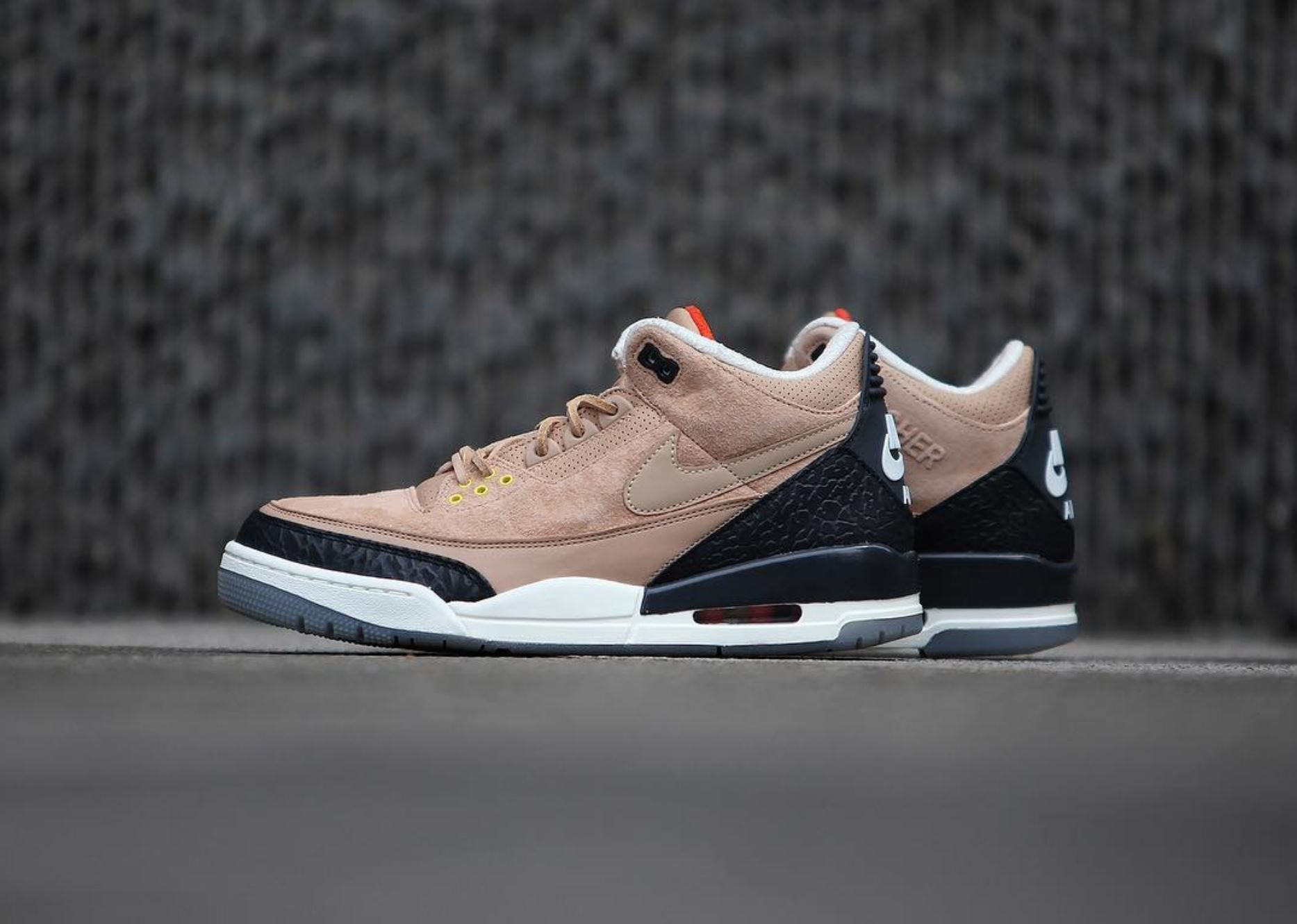 pretty nice f0917 cd86a The Justin Timberlake Air Jordan 3 NRG JTH 'Bio Beige ...