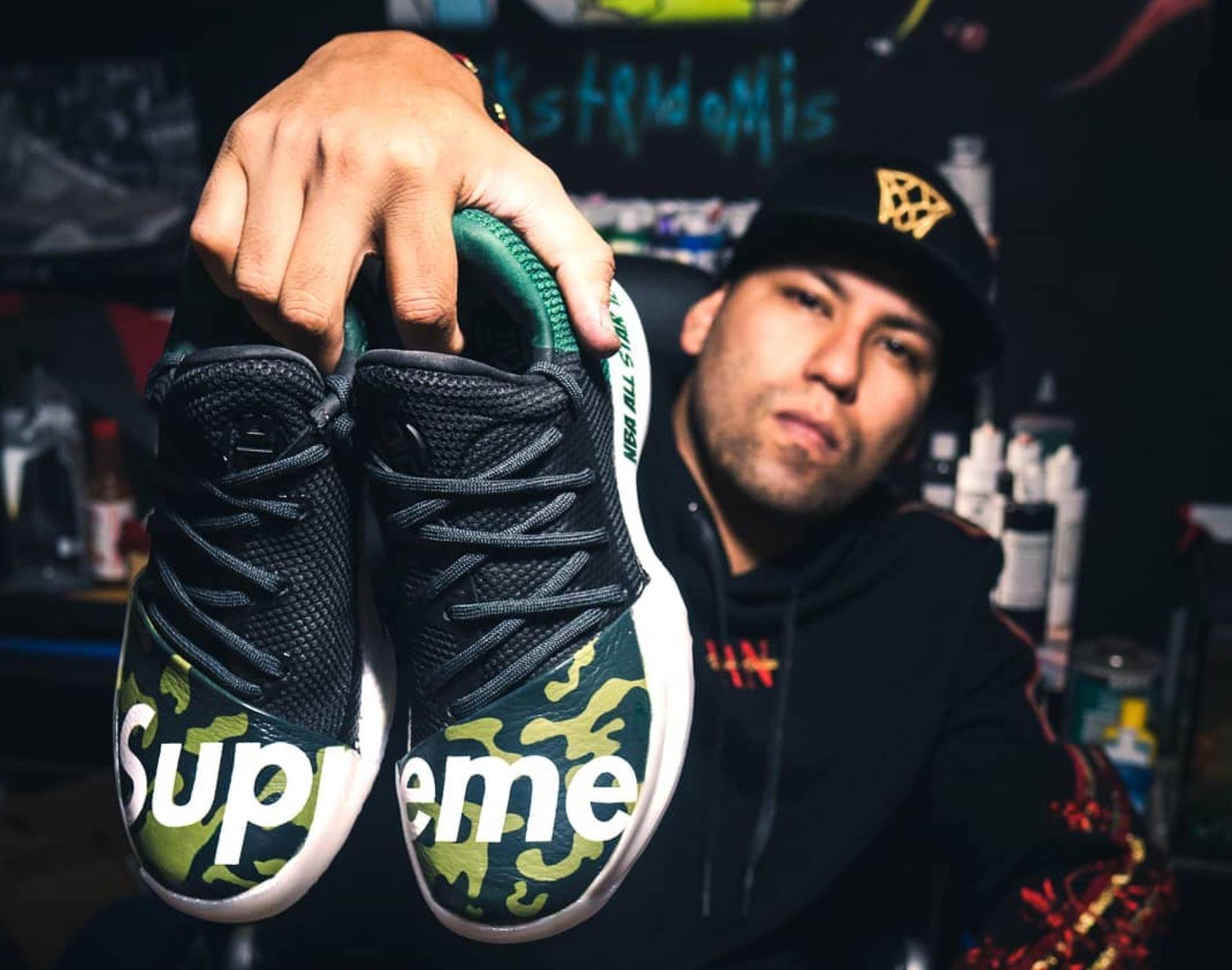 kickstradomis sneaker customizer sneakers by vice